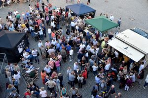 Markgröninger Marktplatzabend im Juli 2017