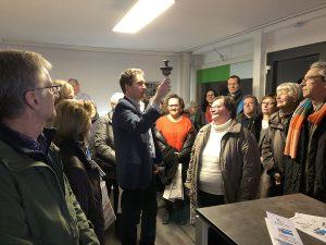 30. Markgröninger Abendspaziergang am 2. Februar 2018 | Organisiert vom Verein Markgröningen aktiv und dem Wirtschaftsförderer der Stadt