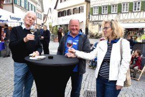(v.l.): Wolfgang Milde, Thomas Farian und Susanne Schmidt-Hannig vom Verein Markgröningen aktiv | Foto: Markgröningen aktiv