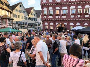 Markgröninger Marktplatzabend im Juli 2018 | Foto: Markgröningen aktiv