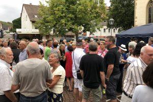 Unterriexinger Rathausplatz-Abend am 9. August 2018 | Foto: MArkgröningen aktiv